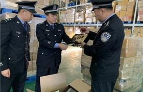 天津海关截获31万件走私代购韩国化妆品