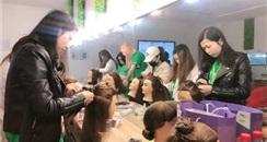 云南色妆职业培训学校助力2019第11届昆明国际美博会