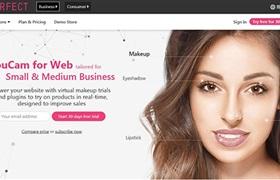 台湾玩美移动推出AR技术平台 方便美妆公司应用虚拟试妆