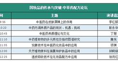 2019年9月53届广州美博会 中草药配方论坛看点
