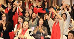 成都美博会会长崔红波出席蒄缇雅公司十周年感恩年会