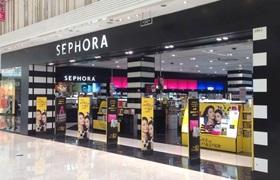 受疫情影响丝芙兰及各大品牌禁止客户在店内试用化妆品