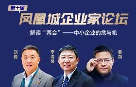 第十届凤凰城企业家论坛全国直播, 两会代表为中小企业答疑解惑