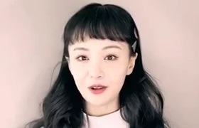 郑爽现身医美直播间不避讳谈整容